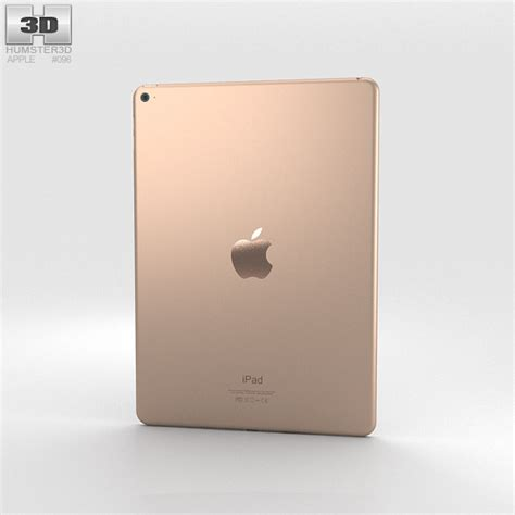 Air 2 Gold apple air 2 gold 3d model humster3d