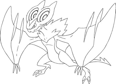 pokemon coloring pages talonflame coloring pages pokemon noivern drawings pokemon