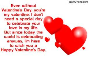 even without s day you re my valentines day message