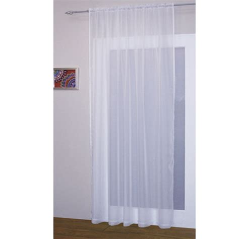 Voile Net Slot Top Rod Pocket Curtain Panel Bedroom Kitchen Panel Curtains