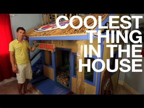 House Builder Simulator ep19 kids room surf bunk bed coolest thing in the