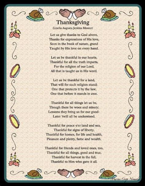 printable turkey poem 25 best ideas about thanksgiving poems on pinterest