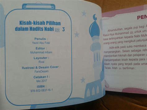 Kisah Kisah Pilihan Dalam Al Quran buku anak kisah kisah pilihan dalam hadits nabi jilid 3