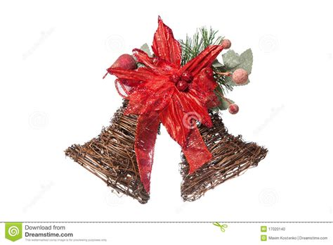 decorative christmas bells stock photo image 17020140
