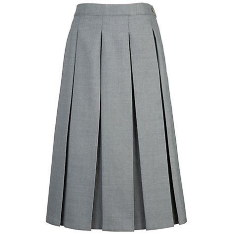 buy grey coat hospital school box pleat skirt lewis
