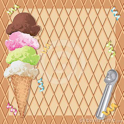 ice cream cone birthday party royalty  stock image
