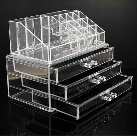 Clear Makeup Drawer by 25 Best Ideas About Acrylic Makeup Organizers On