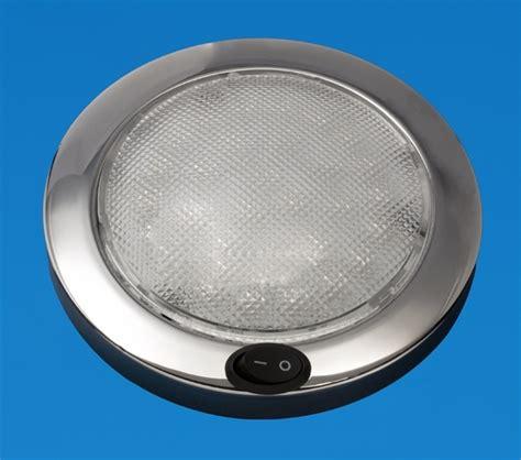 Led 5 5 Quot Led Dome Light Saturn Stainless Warm White 12v Led Lights