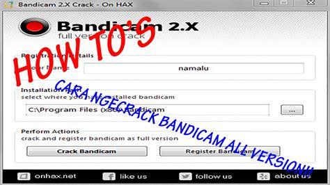 cara unlock full version implosion cara nge crack bandicam all version mudahh cepat simple