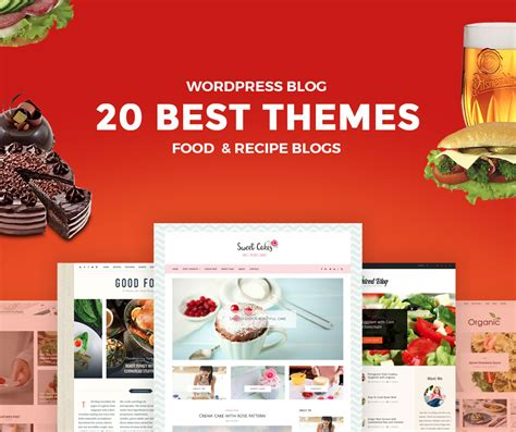 blogger themes food 20 best food wordpress blog themes for chef and recipe