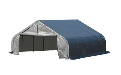 Shed Logic by Shelterlogic 18x20 Peak Style Shelter 9 80043 80044