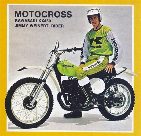kawasaki motocross jersey kawasaki kx450 jimmy weinert with all the cool kawasaki