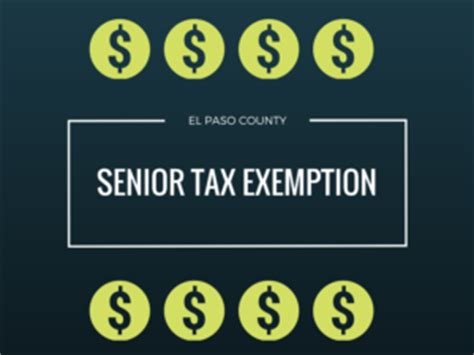 El Paso County Property Tax Records Senior Property Tax Exemption Cuts Taxes By 50 For Those Who Qualify
