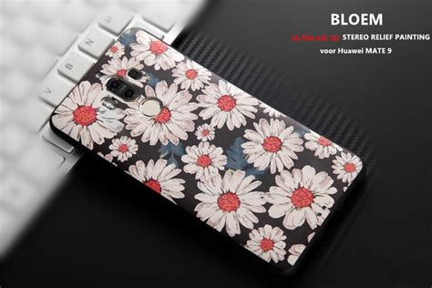 Softcase For Huawei Mate 9 by Design 3d Softcase Hoesje Huawei Mate 9 Bloem Mate 9