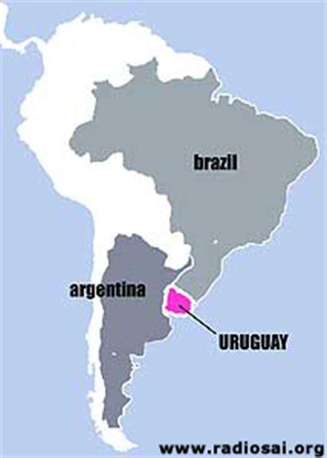 map of south america uruguay sai movement in uruguay