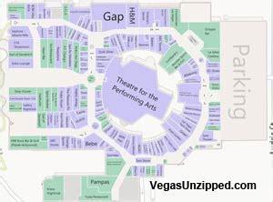 Planet Las Vegas Floor Plan Las Vegas Hotel And Casino Property Maps List