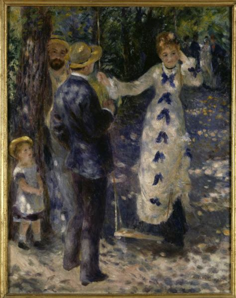 the swing renoir renoir the swing pierre auguste renoir as art print or