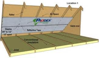 installing radiant barrier in attic install radiant