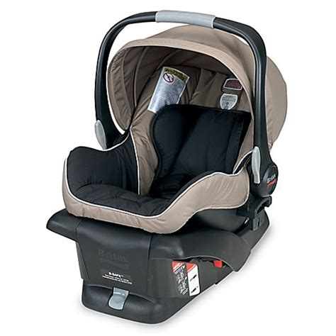 b safe car seat britax b safe infant car seat in sandstone buybuy baby