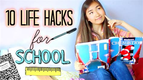 10 General Tips For High School by 10 Diy Hacks For School And Studying Every Student