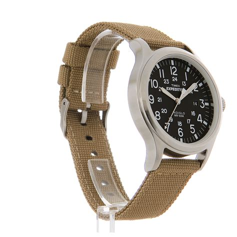 Expedition E6318m Leather Black List timex s expedition rugged black 24