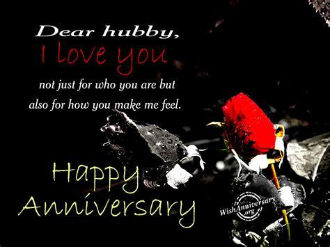Wedding Anniversary Hubby by I You Hubby Happy Anniversary