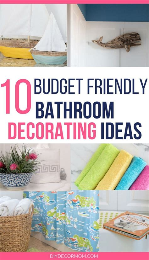 decorating ideas for bathrooms on a budget bathroom decorating ideas the best budget ideas