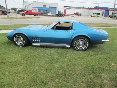 1969 corvette project for sale 1969 chevrolet corvette coupe 350 4 speed side exhaust p s