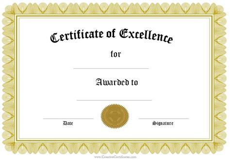formal certificate templates formal award certificate templates blank certificates in