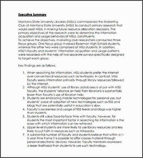 Mba Research Exle Pdf by 5 Business Marketing Research Plan Template