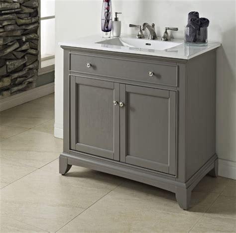 fairmont designs badezimmer vanity smithfield 36 quot vanity medium gray fairmont designs