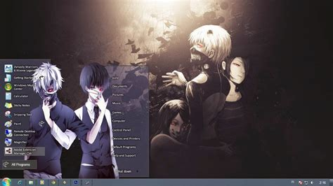 themes for windows 7 tokyo ghoul tokyo ghoul theme windows 7 anime theme windows 7 skins