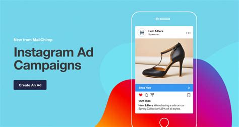 design instagram ad how to create instagram ads on mailchimp advertisemint