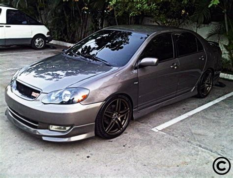 2003 Toyota Corolla S Daniel Trd 2003 Toyota Corolla Specs Photos Modification