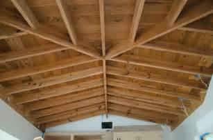 beams in ceiling open beam ceilings what a find