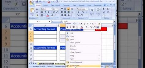 format excel accounting how to apply accounting percentage formatting in excel