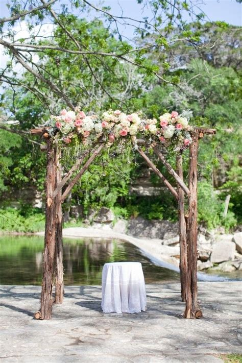 how to make a rustic wedding arch 20 cool wedding arch ideas hative