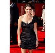 Driver Danica Patrick At The ESPYs With Gold &amp Chalcedony