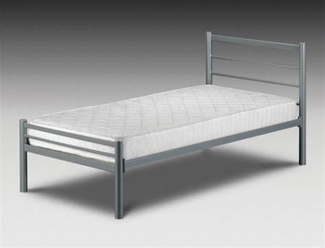 Julian Bowen Alpen 2ft6 Small Single Metal Bed Frame By Small Metal Bed Frames