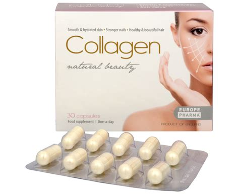 Collagen Kapsul europepharma collagen 30 kaps 250 l vivantis sk