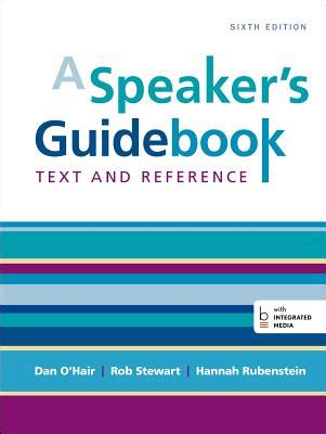 a speaker s guidebook text and reference books 9781457663536 a speaker s guidebook text and reference
