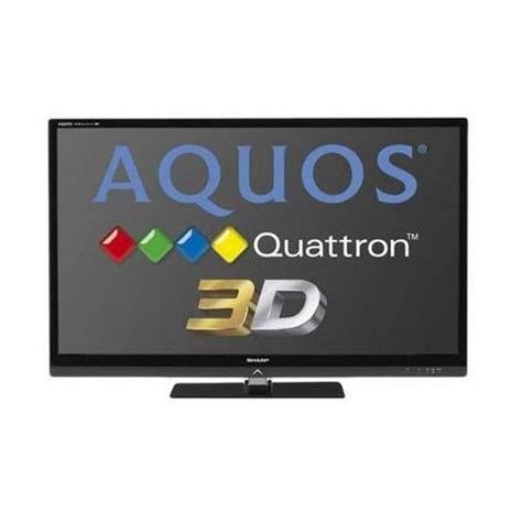Tv Led Sharp Quattron sharp aquos quattron 52 inches led 3d tv lc 52le835 price specification features