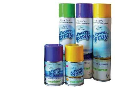 Spray Pembersih Ac powerspray ac clean pembersih dan pengharum ac tinggal semprot