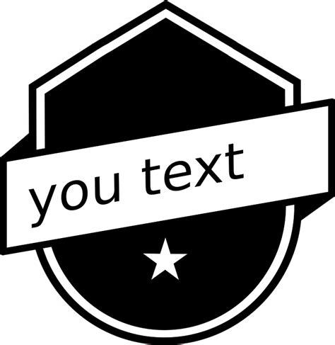 logo vector graphics black white  vector graphic