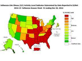 united states flu map cdc announces flu epidemic in united states