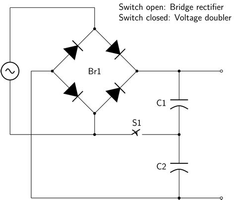 rectifier diode wiki file switcheable rectifier svg wikimedia commons