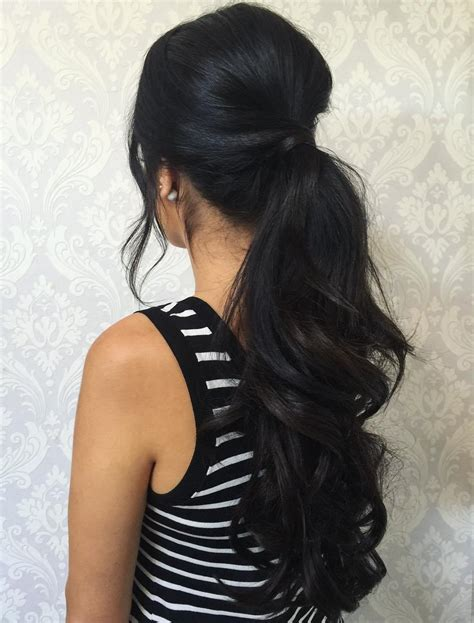 Ponytail Hairstyles For Hair by 30 Eye Catching Ways To Style Curly And Wavy Ponytails