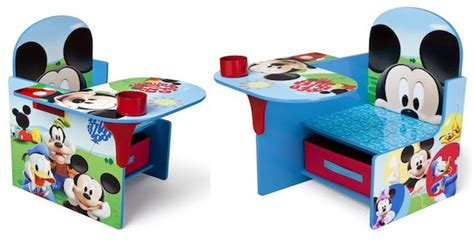 mickey mouse chair desk best price disney mickey mouse children s chair desk with storage bin only 29 00