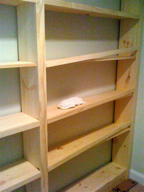 deux maison inspired to build diy built in bookcase
