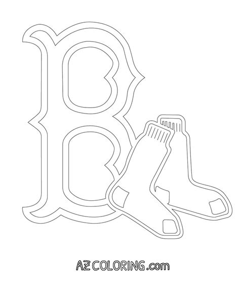 Boston Red Sox Coloring Pages Coloring Home Free Coloring Pages Wally Sox